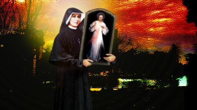 santa faustina baja del cielo