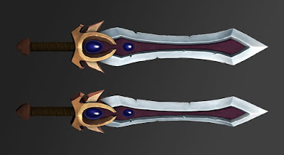 Garen Sword Default Skin for Fine Detail