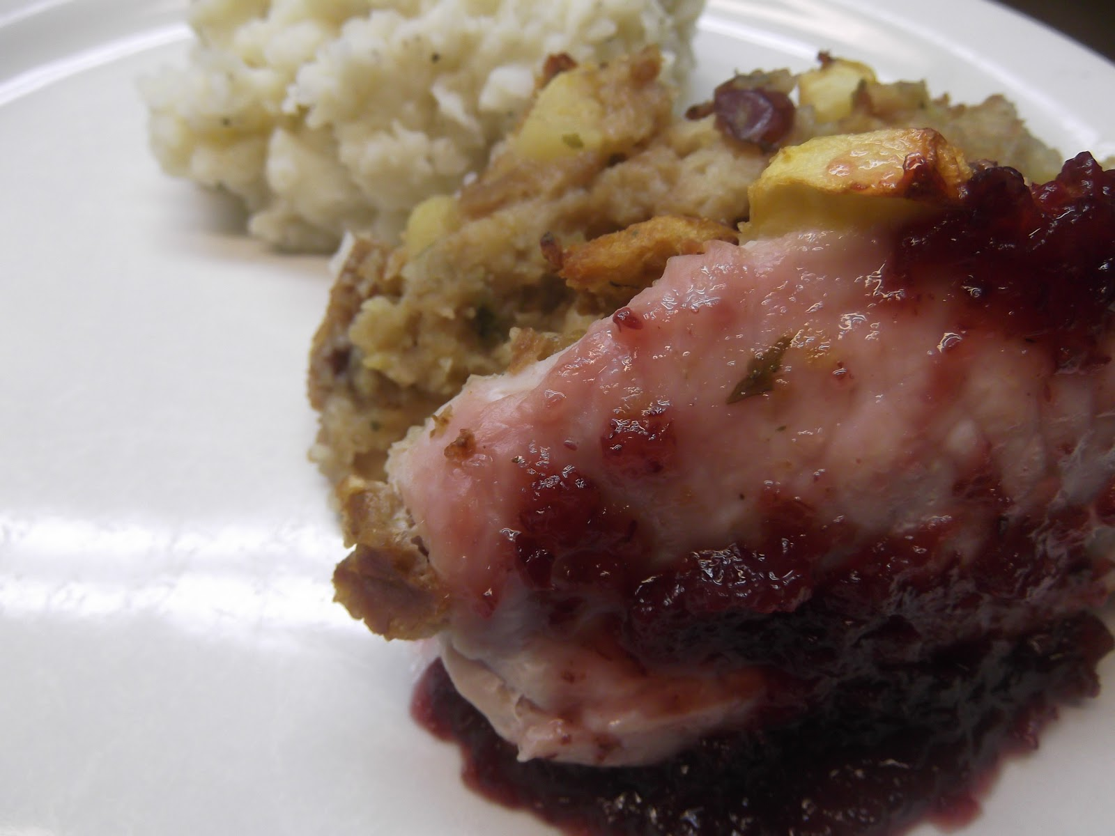 Gingerbread Men- Recipe Blog: Apple-stuffed Pork-chops ...