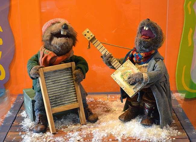 Charlie Muskrat and Harvey Beaver, Center for Puppetry Arts