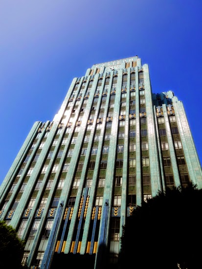 Eastern Columbia Building Los Angeles downtown deco