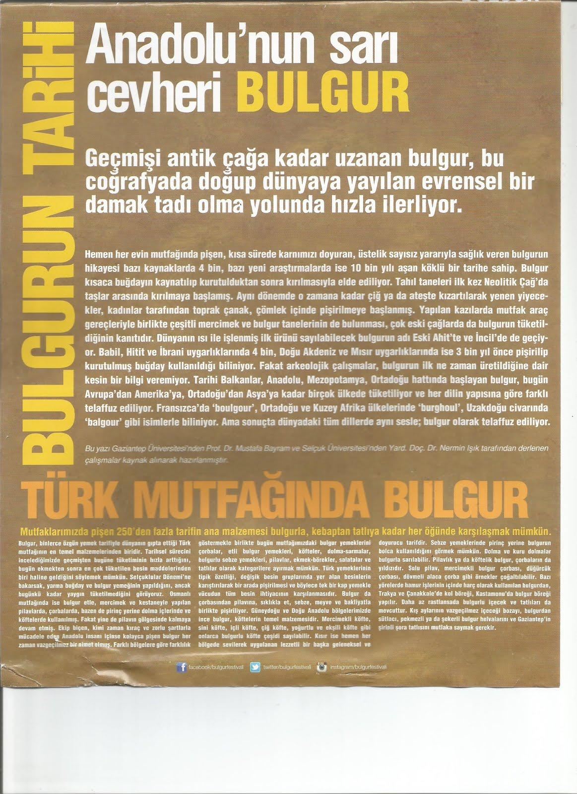 Anadolunun Sarı Cevheri