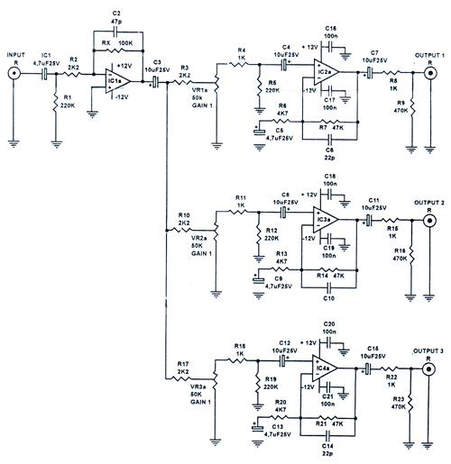 schematic power 400 watt