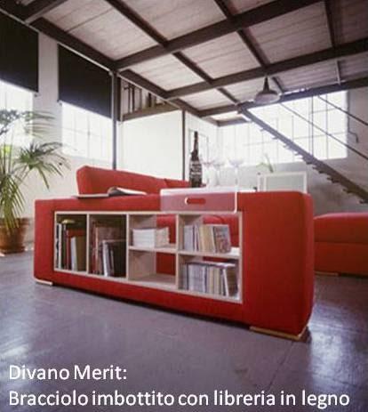 Divani blog tino mariani il bracciolo del divano - Divano con mobile incorporato ...