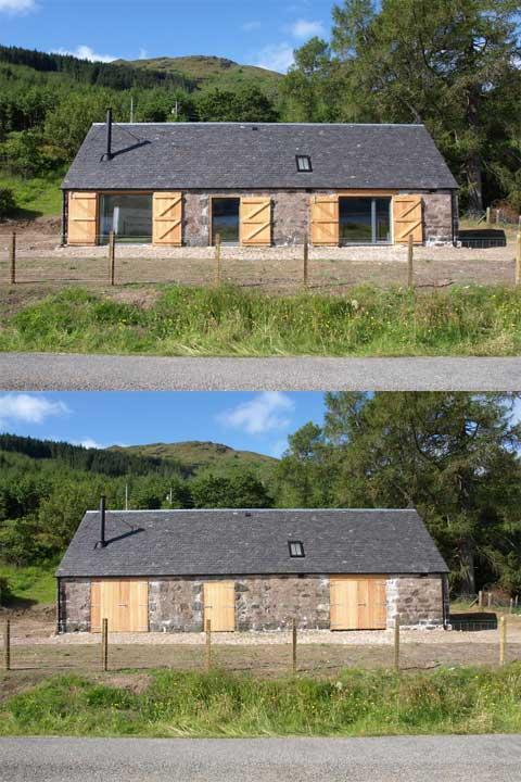 fine little blog barn house in the highlands. Black Bedroom Furniture Sets. Home Design Ideas