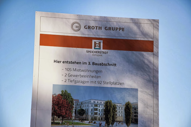 Baustelle Speicherstadt Potsdam L61 GmbH & Co.KG, Am Bürohochhaus 2-4, 14478 Potsdam, 11.01.2014