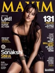 Sonakshi Sinha Maxim Bikini Pic - Sonakshi Sinha Bikini Pics from Maxim