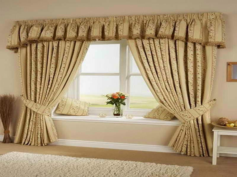 chic extra long curtain design