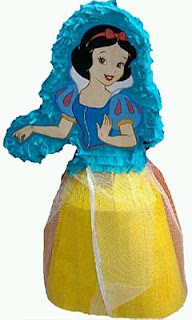 Piñatas Blanca Nieves, parte 2