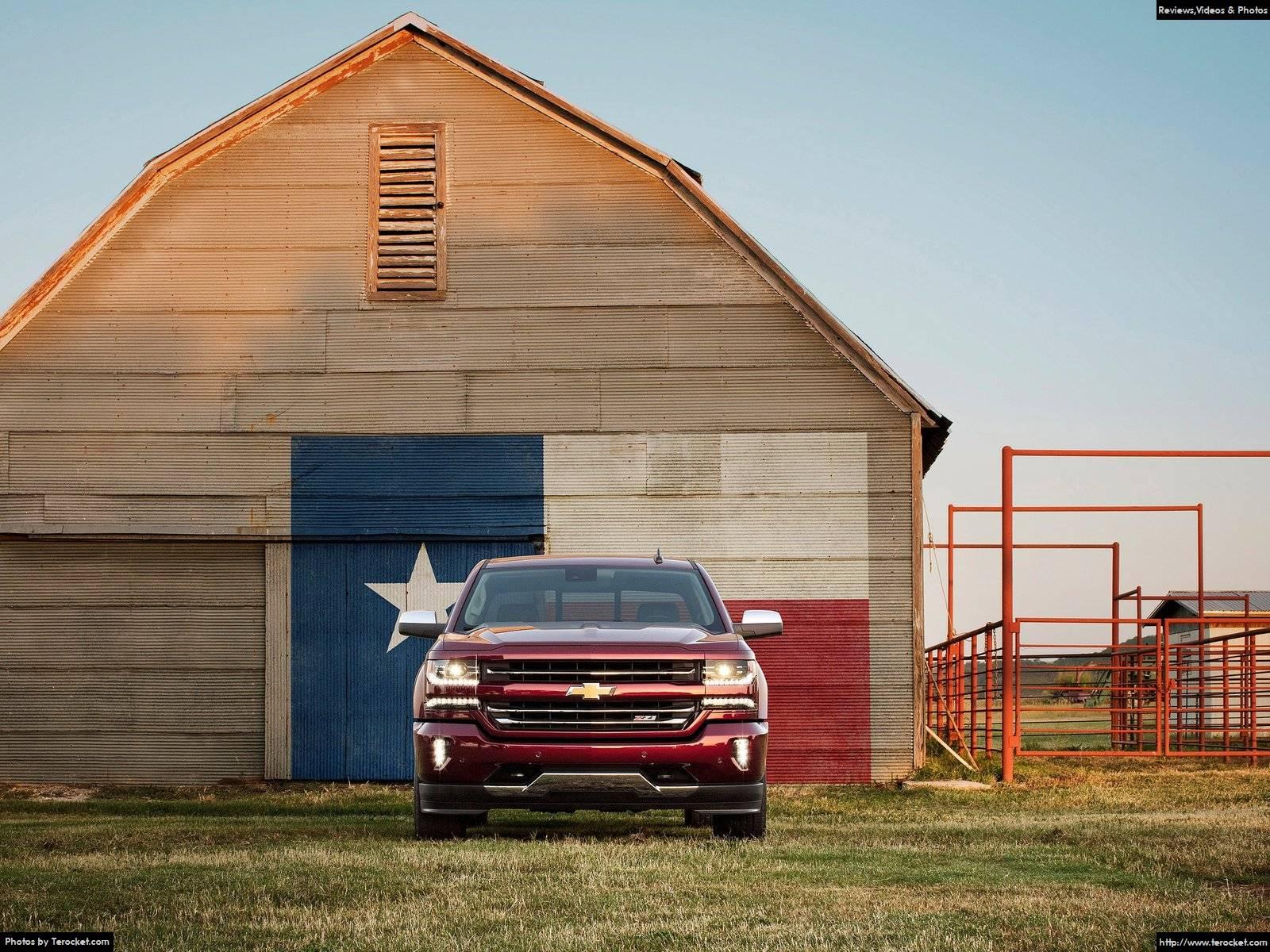 Hình ảnh xe ô tô Chevrolet Silverado 2016 & nội ngoại thất