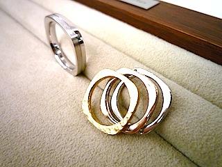 フルオーダーした結婚指輪(マリッジリング)は仕上げにもこだわりました。