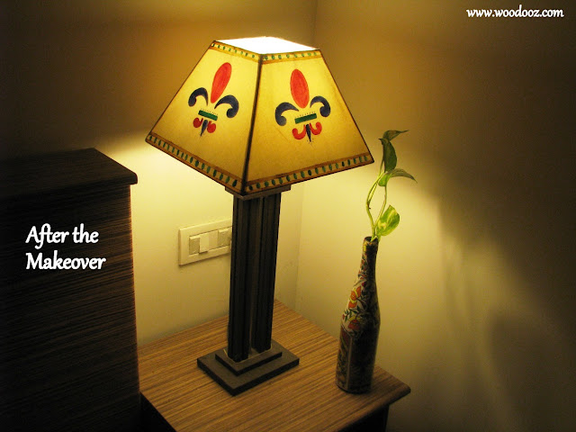 Lampshade - After the makeover