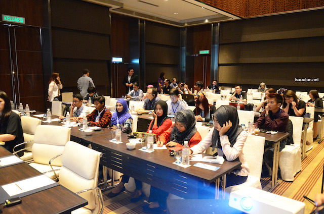 Students, Media, techies, and enthusiasts in attendance on Day 1