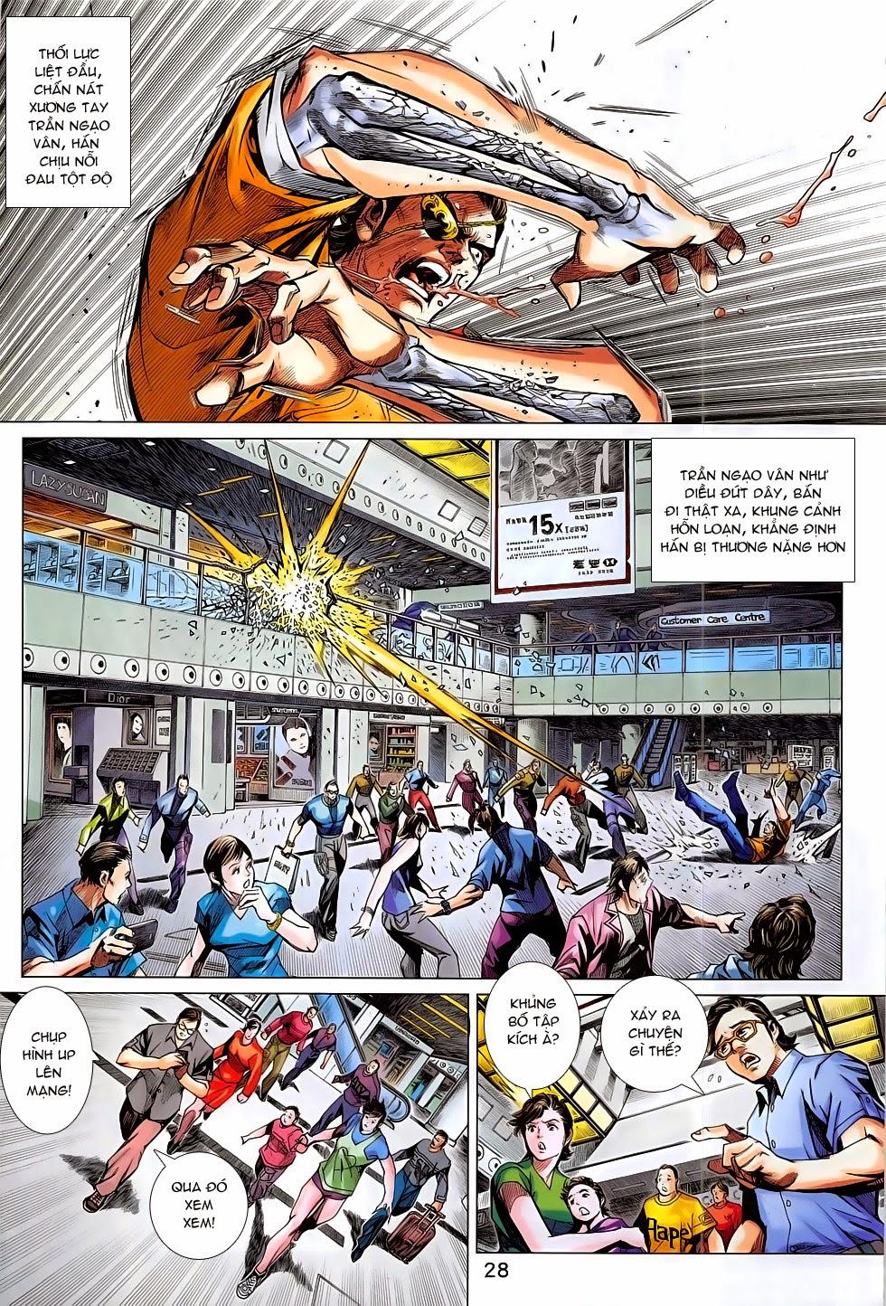 Tân Tác Long Hổ Môn chap 782 Trang 28 - Mangak.info