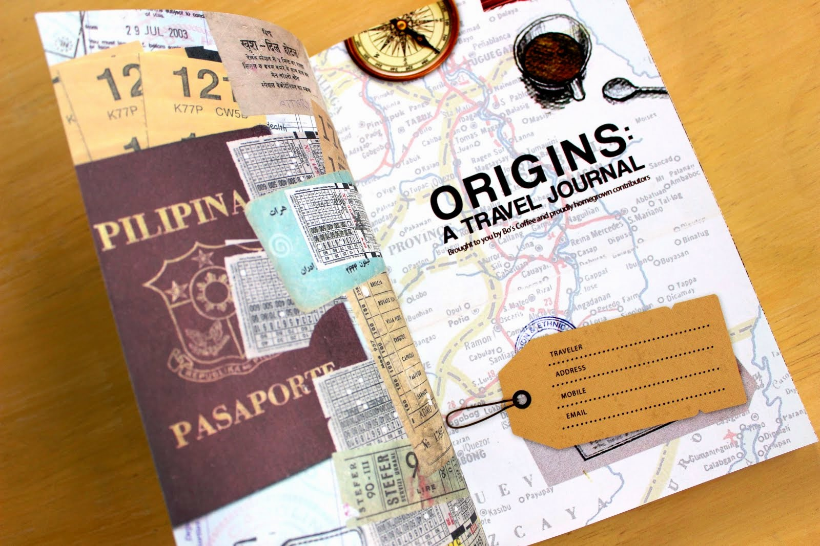 ORIGINS: A TRAVEL JOURNAL