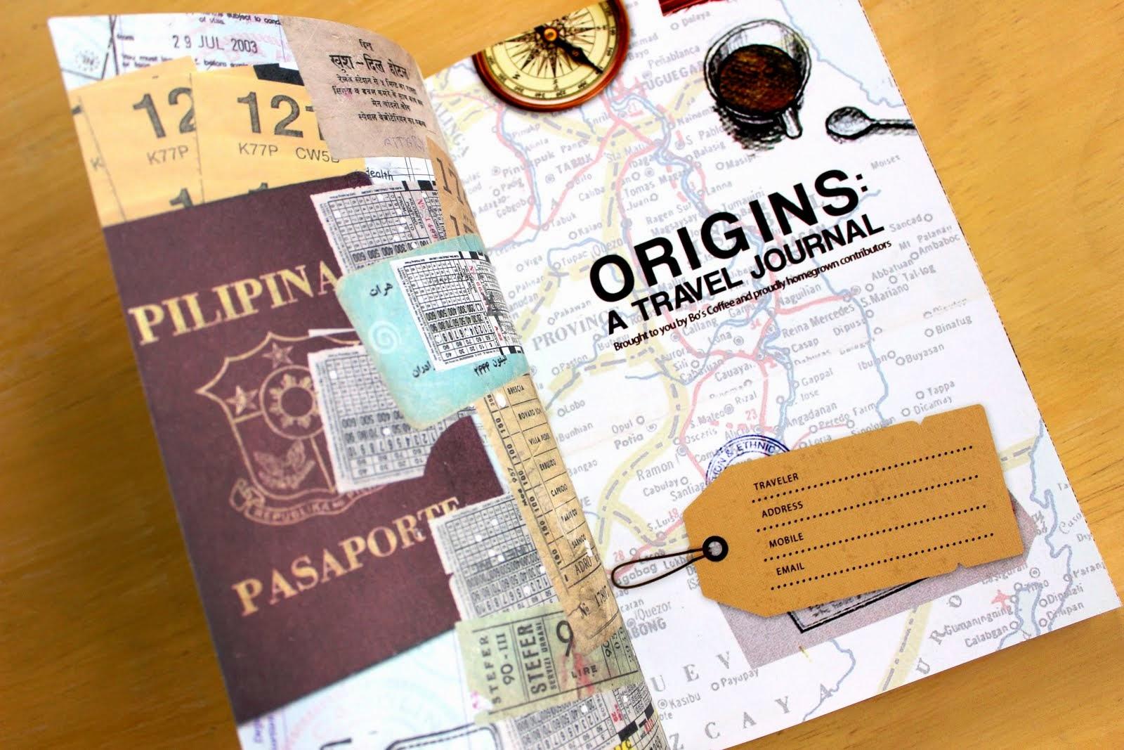 ORIGINS: A TRAVEL JOURNAL