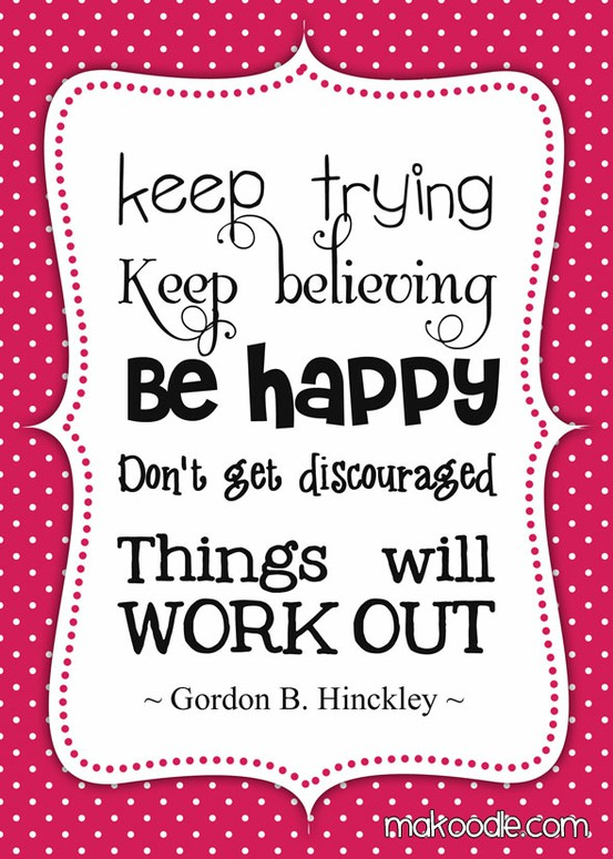 finding happiness one quote at a time working out