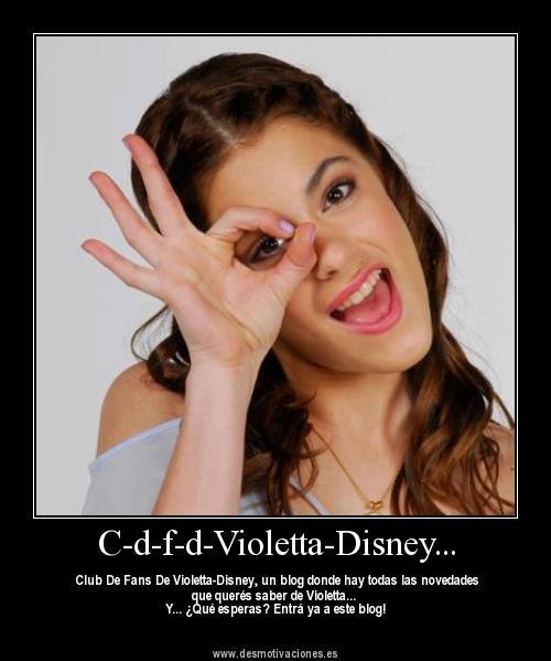 La foto official de C-d-f-d-Violetta-Disney...