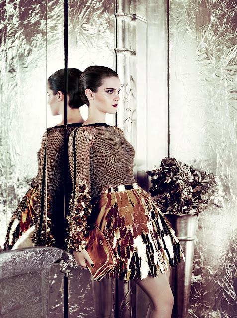 emma watson vogue us. Emma Watson Vogue US July 2011