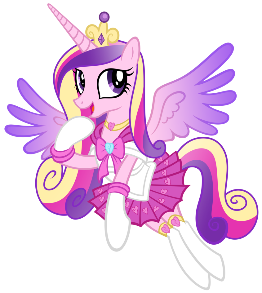 My little pony princess cadence and shining armor get married - My little pony cadence ...