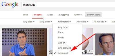 Google Images animated