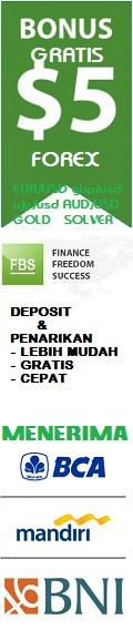 deposit forex menggunakan bank bca, BNI dan mandiri