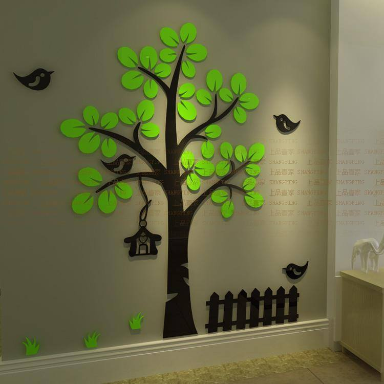 Home decor 3d wallpaper stickers for Home decor 3d