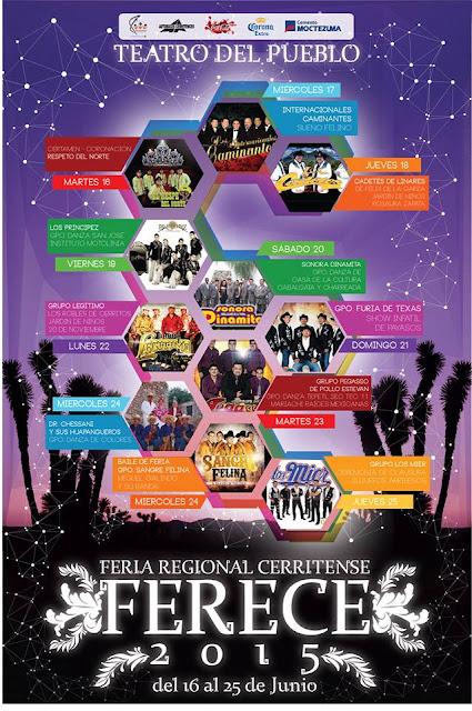 FERECE Feria Regional Cerritense 2015