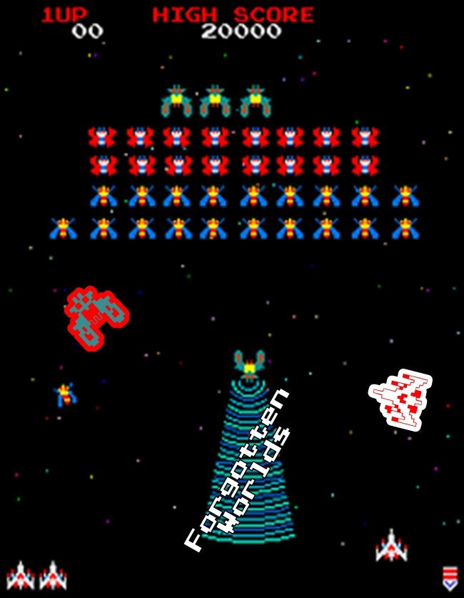 Video Game Galaga