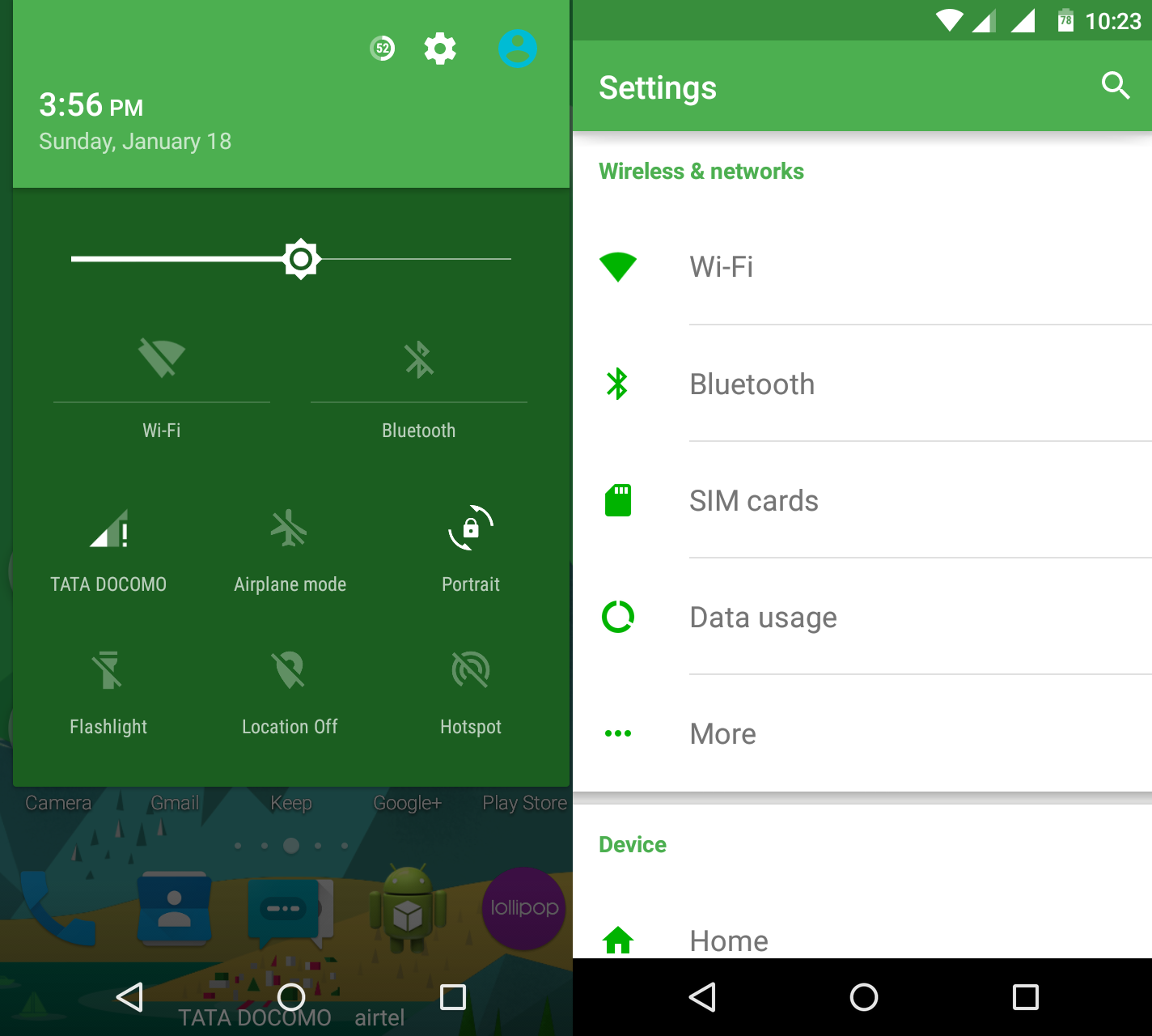 Green gmail theme - Green Material Cm12 Theme