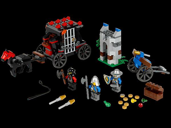 Lego Ráp Xe Ngựa Gold Hetaway 70401