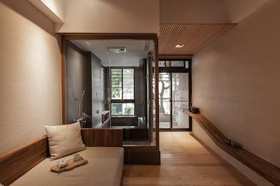 Interior rumah gaya jepang modern 1
