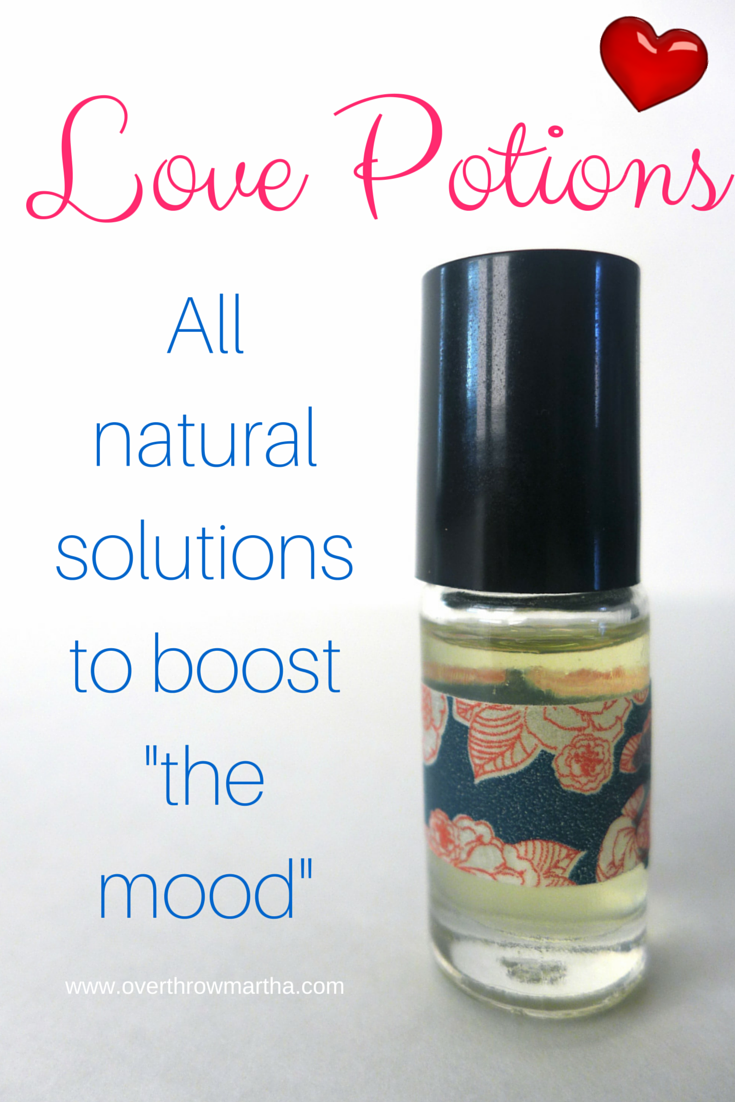 DIY love potions to help support a healthy libido #essentialoils #sexytime #valentines2015