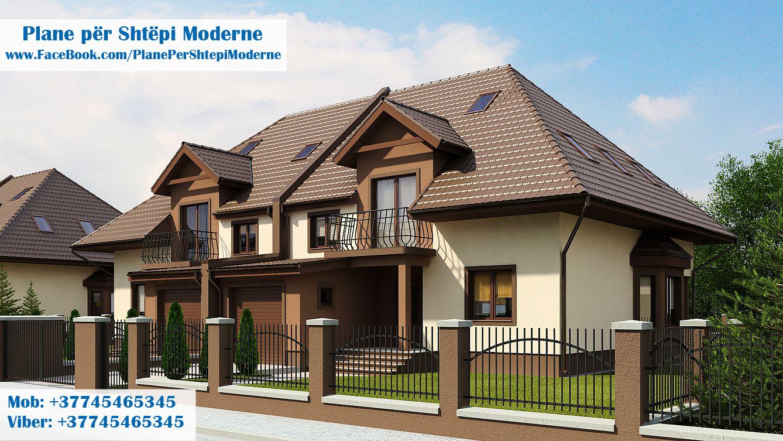 plane per shtepi plane per shtepi per dy familje plane per shtepi moderne. Black Bedroom Furniture Sets. Home Design Ideas
