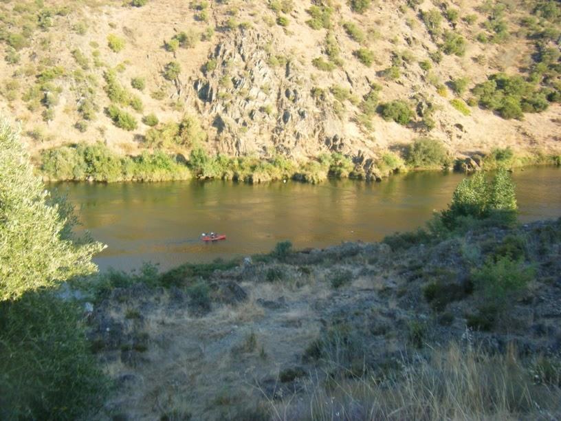 Canoagem no Rio Guadiana
