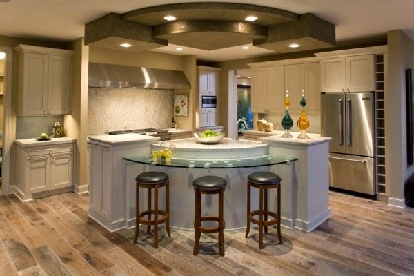 Decoracin de cocinas modernas con islas Ideas para decorar
