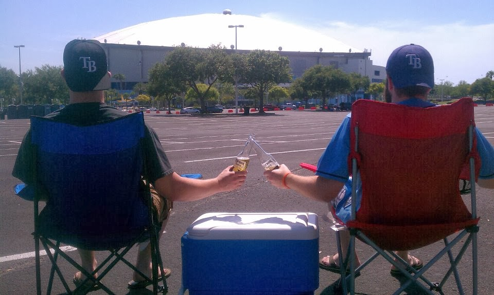 Tampa Bay Rays Tailgate