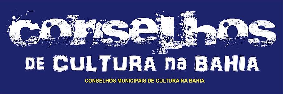 Conselhos Municipais de Cultura na Bahia