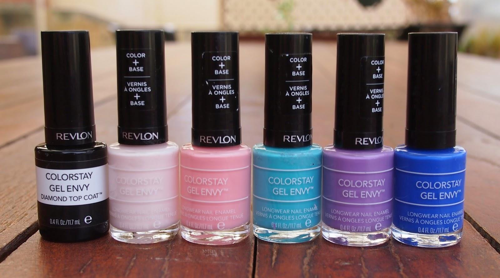 Revlon Gel Envy Longwear Nail Enamel Review and Swatches