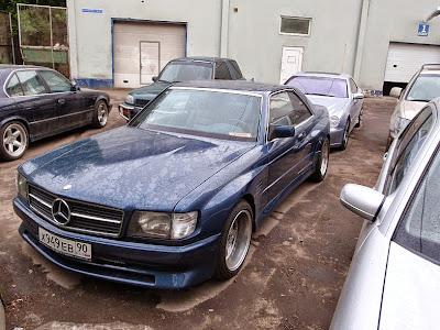 Mercedes Benz 560 Sec Amg Koenig Specials Widebody