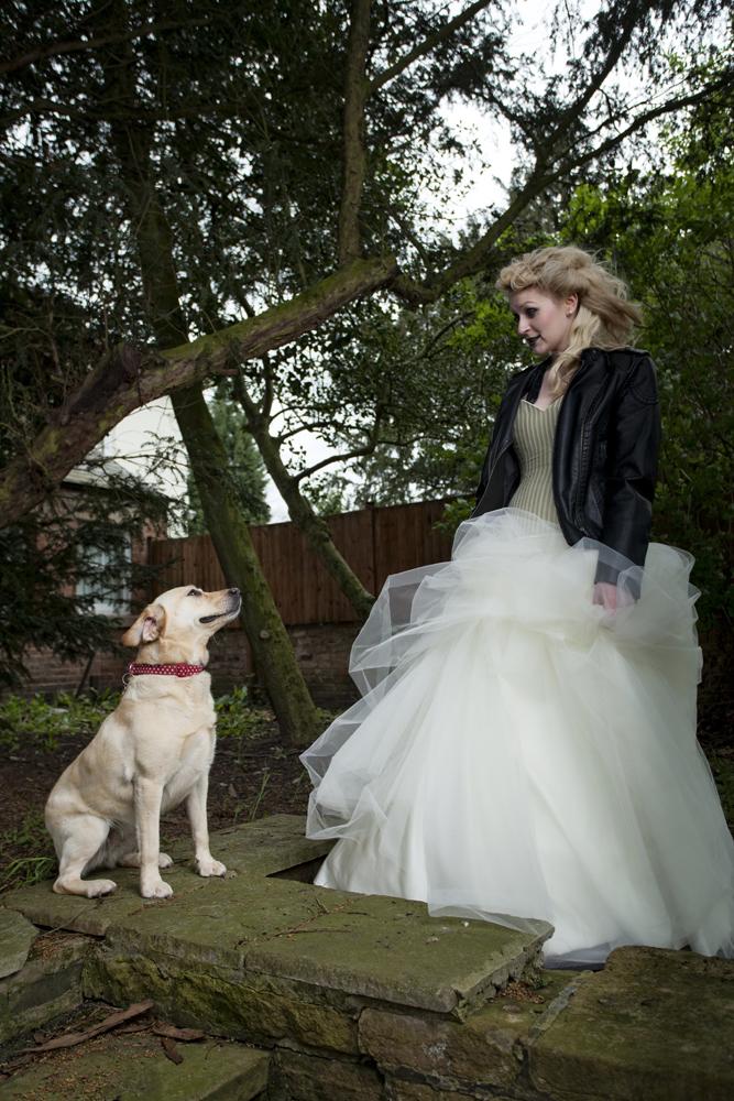 Alternative Wedding Dresses Nottingham : Yvonne lishman photography anneka james modelling for timeless