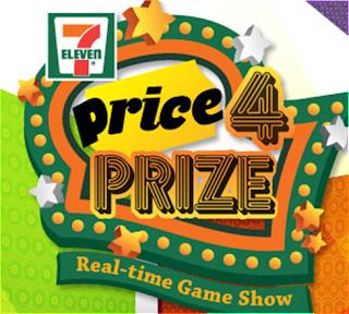 7 Eleven 'Price 4 Prize' Contest