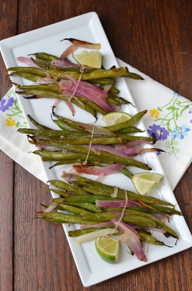 Roasted Green Bean Bundles (Thanksgiving Side dish)