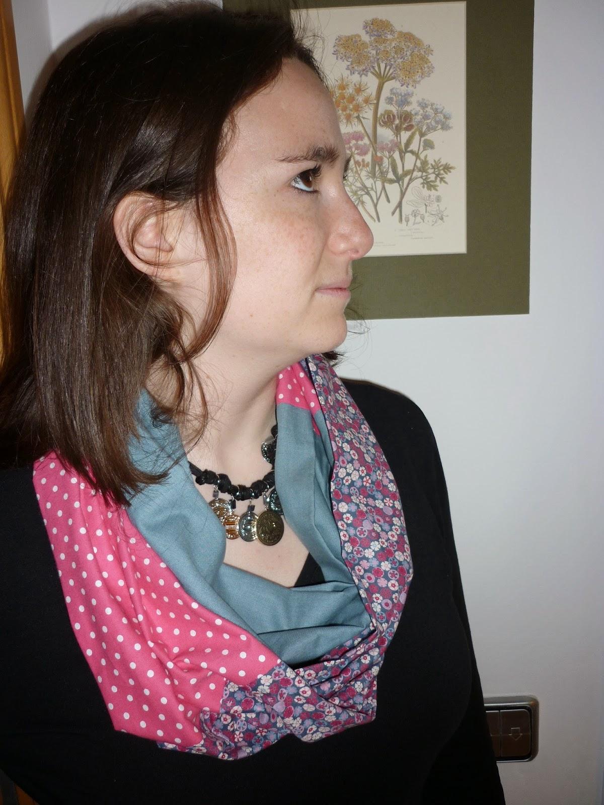 modistilla de pacotilla snood infinity scarf la vie en diy cose conmigo