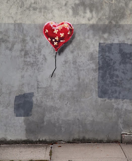 Banksy Heart Balloon in New York