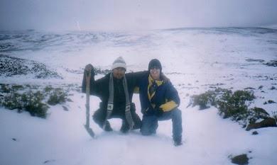 Nevadas caidas en la Sierra de Arequipa 2005