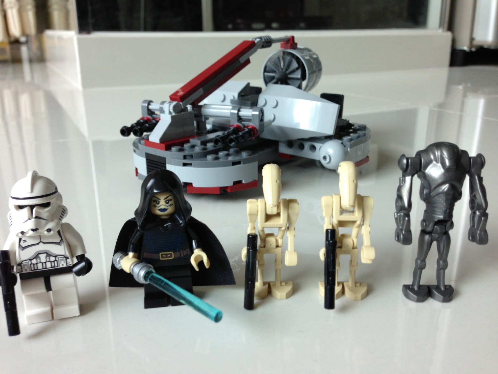 the marriage of lego and star wars review 8091 republic