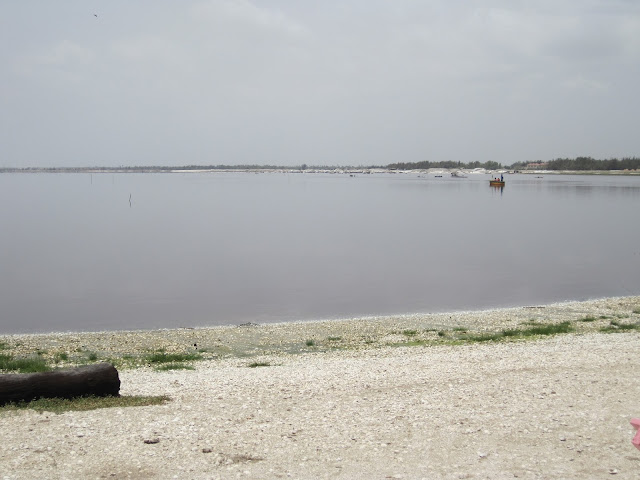 Lago Rosa en Senegal (2013)
