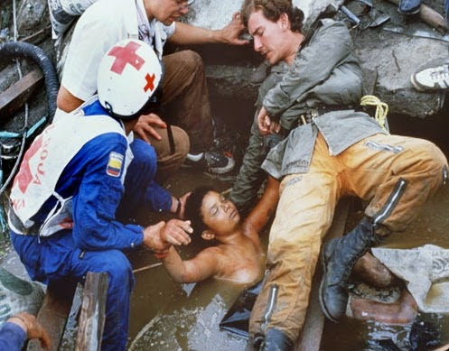 Kisah Gadis Tersepit Di Celah Runtuhan Sehingga Meninggal Dunia, Omayra Sanchez, Gempa Bumi Dahsyat Di Armero, Columbia