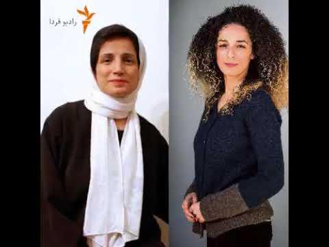یکی در درون و دیگری در برون از کشور برای « به حجاب اجباری »  مبارزه می کنند